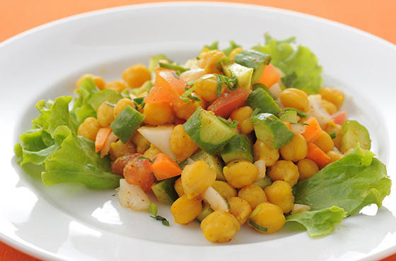 ひよこ豆のサラダ 399円
