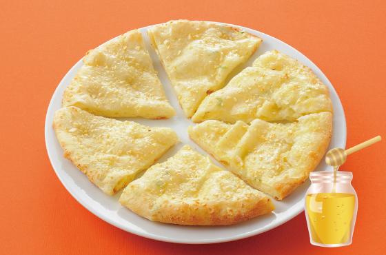 チーズガーリックナン(はちみつ入り) 499円